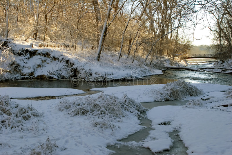 De Schoonheid van de winter stock afbeeldingen
