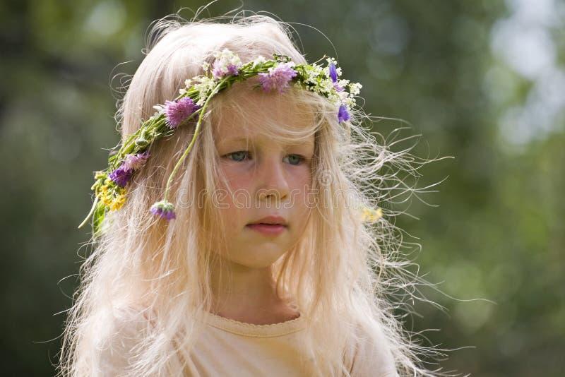 De schoonheid van de zomer royalty-vrije stock afbeelding