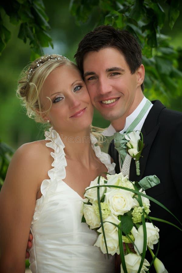 De Schoonheid van het huwelijk royalty-vrije stock afbeelding