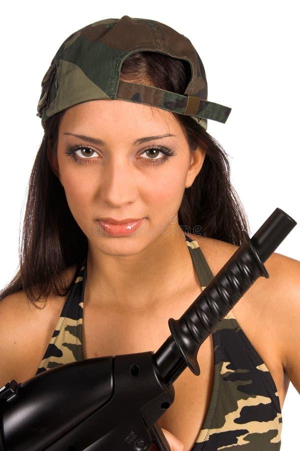 De Schoonheid van het leger stock fotografie