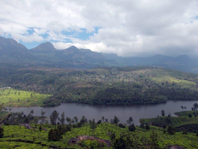 De schoonheid van Kerala in één foto wordt verpakt die royalty-vrije stock foto's