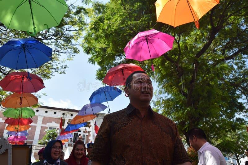 De schoonheid van de oude stad van Semarang royalty-vrije stock fotografie