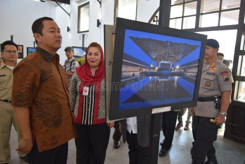 De schoonheid van de oude stad van Semarang royalty-vrije stock foto's