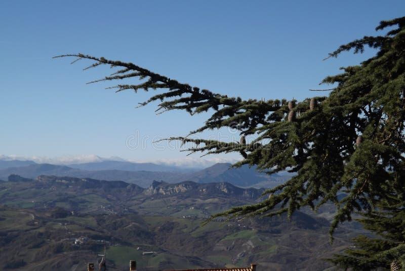 De schoonheid van San Marino royalty-vrije stock afbeeldingen