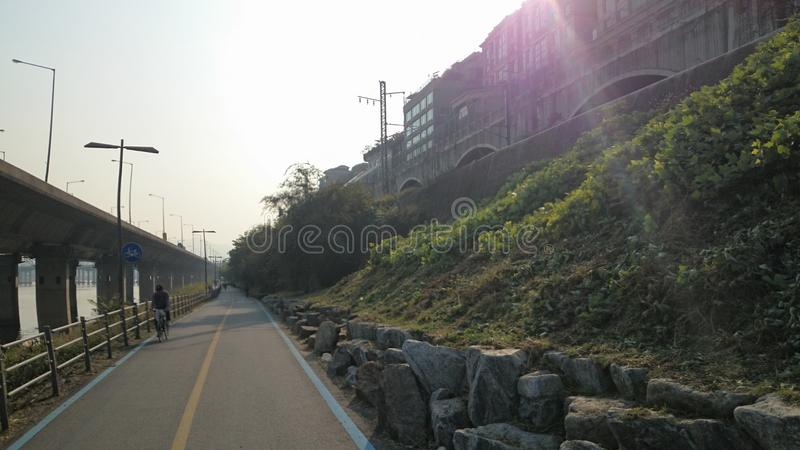 De Schoonheid van Seoel 45 stock fotografie