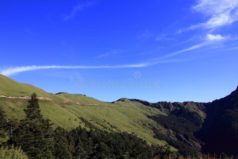 De schoonheid van Taiwan - Hehuan-Berg royalty-vrije stock foto
