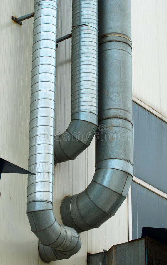 Download De Schoorsteen Van De Fabriek Stock Foto - Afbeelding bestaande uit benzine, machines: 29509974
