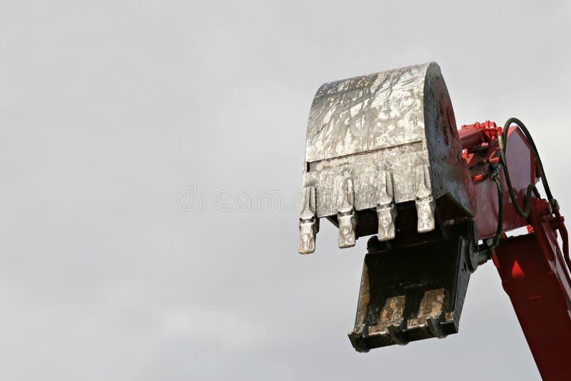 Download De Schop Van Het Graafwerktuig Stock Foto - Afbeelding bestaande uit up, industrieel: 295194
