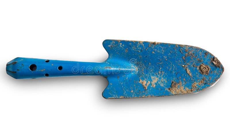 De schop van de lepelspade, het tuinieren hulpmiddelen stock afbeelding