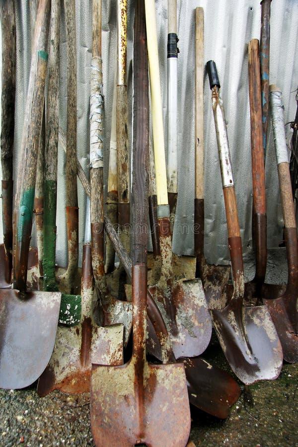 De Schoppen van de tuin royalty-vrije stock fotografie