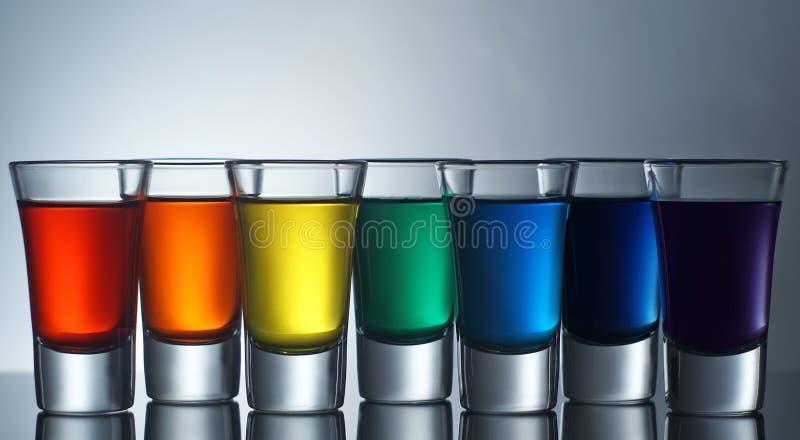 De Schoten van de regenboog royalty-vrije stock foto's