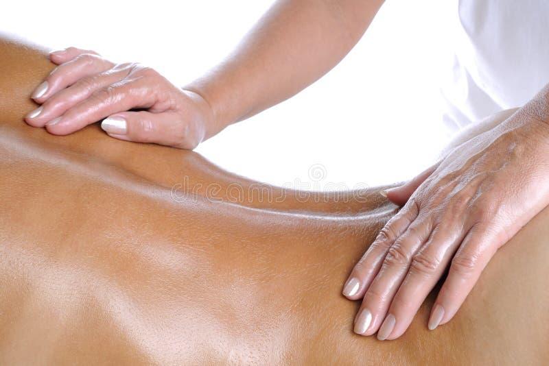 De schrijver uit de klassieke oudheid van de massage stock afbeelding