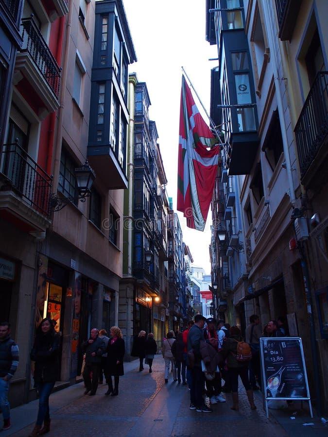 De schrijver uit de klassieke oudheid van Bilbao royalty-vrije stock fotografie