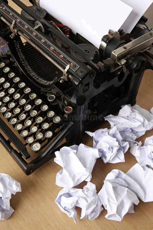De schrijvers blokkeren stock afbeelding