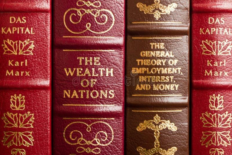 De schrijvers uit de klassieke oudheid van de economie stock afbeelding
