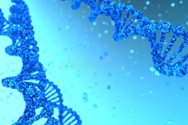 De schroef van DNA stock foto