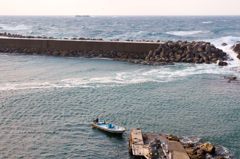De Schuilplaats van de boot stock afbeeldingen