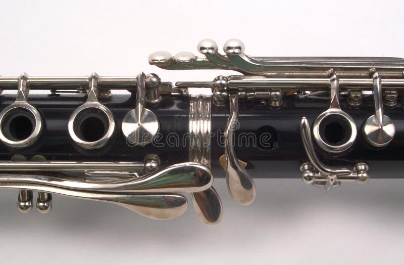 De Sectie van de klarinet stock foto