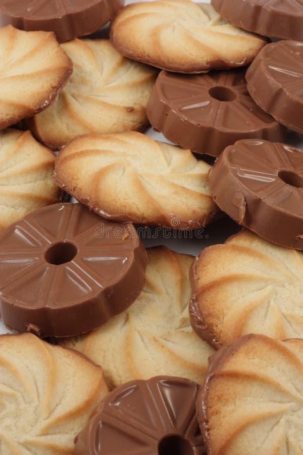 De selectie van het koekje stock afbeelding