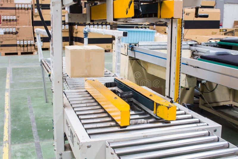 De semi-Auto het Vastbinden machine royalty-vrije stock foto