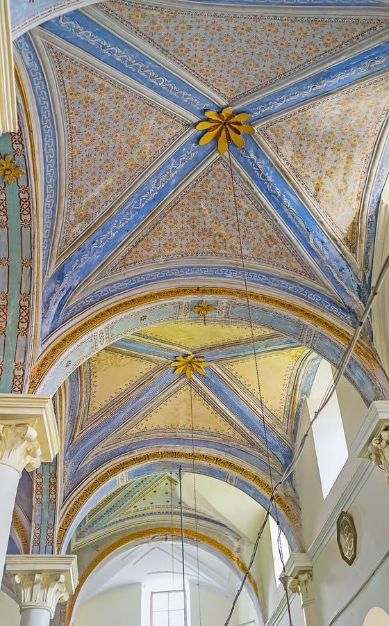 De semi koepels van Aladdin Mosque royalty-vrije stock foto's