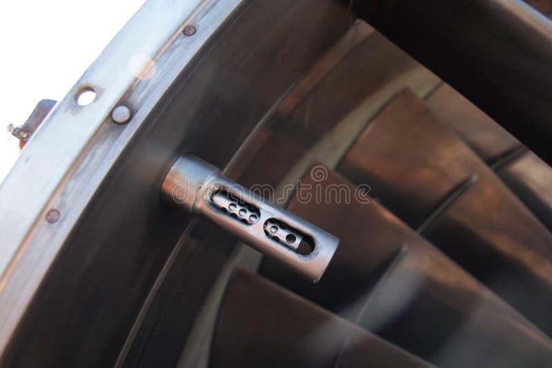 De sensor van de temperatuur. stock afbeeldingen