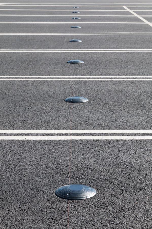 De sensor van het autoparkeren stock fotografie