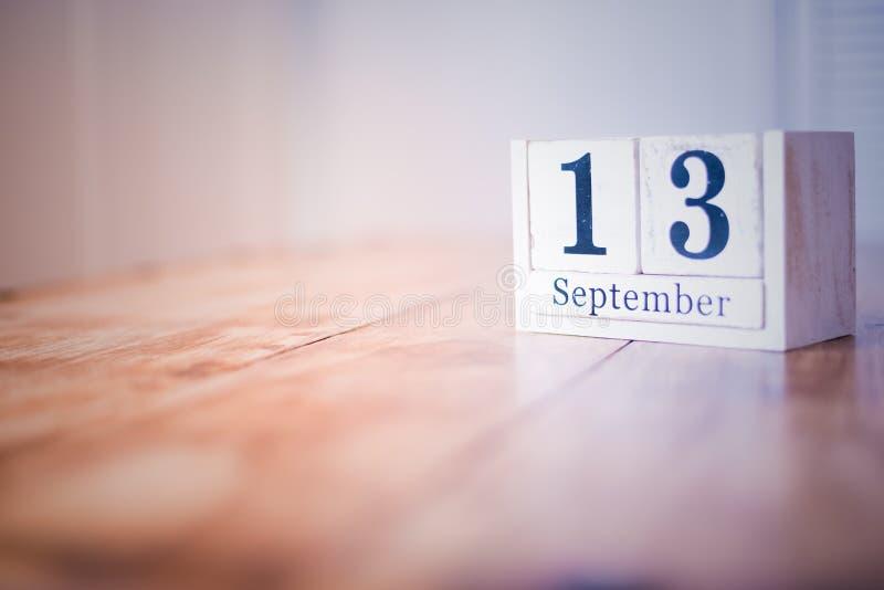 13 de septiembre - décimotercero de septiembre - feliz cumpleaños - día nacional - aniversario imagenes de archivo