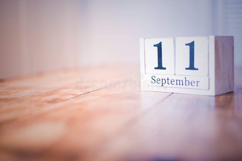 11 de septiembre - 11mo de septiembre - feliz cumpleaños - día nacional - aniversario imagenes de archivo