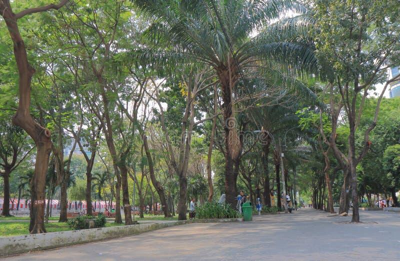 23 de septiembre parque Ho Chi Minh City Saigon Vietnam fotografía de archivo libre de regalías