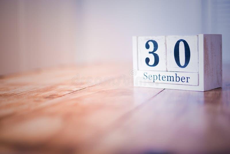 30 de septiembre - trigésimo de septiembre - feliz cumpleaños - día nacional - aniversario foto de archivo libre de regalías