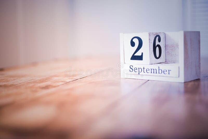 26 de septiembre - vigésimo sexto de septiembre - feliz cumpleaños - día nacional - aniversario fotos de archivo libres de regalías