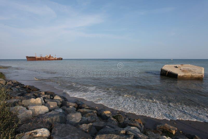 De sereniteitswrak van de Zwarte Zee royalty-vrije stock fotografie