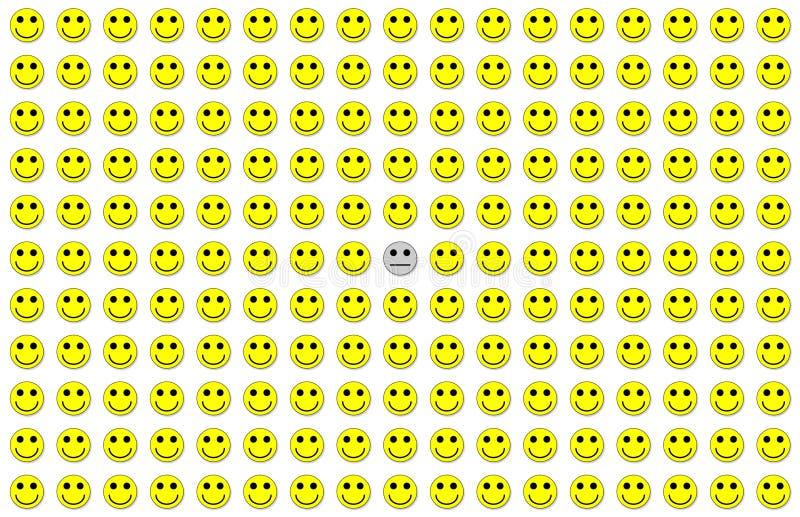 Download De Serie van de depressie stock illustratie. Afbeelding bestaande uit gedeprimeerd - 47562