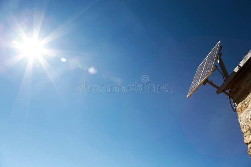 De Serie van het zonnepaneel stock afbeeldingen