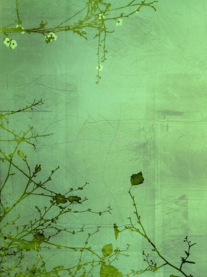 De serigrafie van de lente vector illustratie