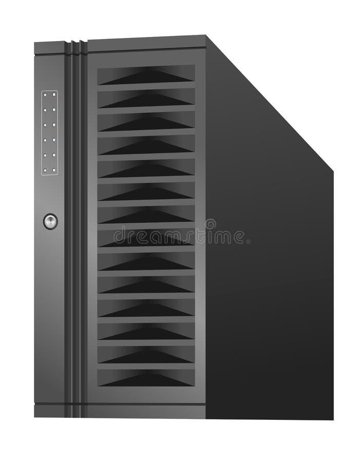 De Server van het netwerk stock illustratie