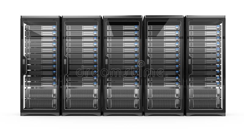De servers van de computer vector illustratie