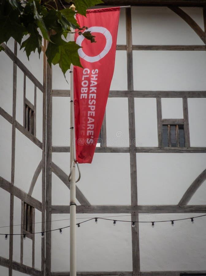 De Shakespeare Globe Theatre stock foto's