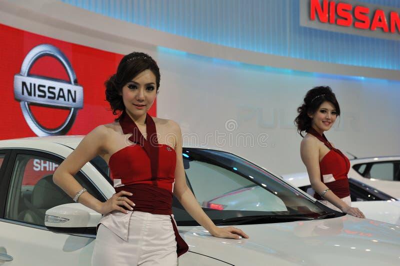 De Show van de motor in Bangkok