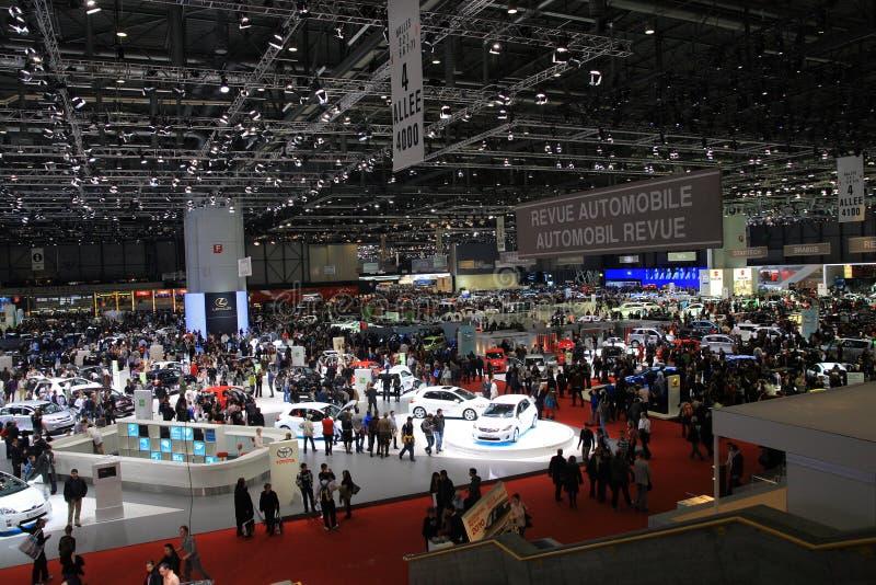 De Show van de motor Geneve stock foto's