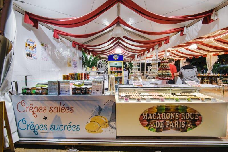 De Showcase van de de Herinneringswinkel van Parijs royalty-vrije stock fotografie
