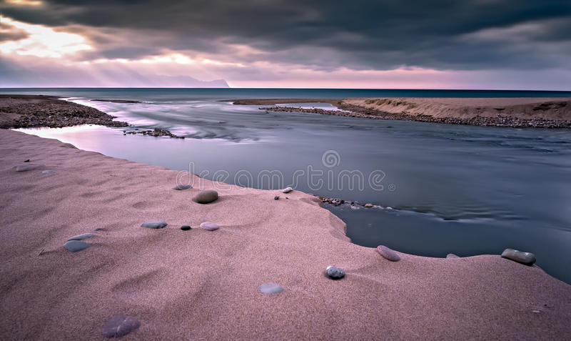 De Siciliaanse kust stock foto