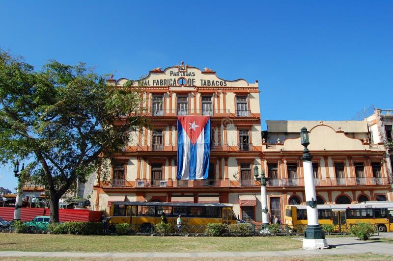 De sigarenfabriek van Havana royalty-vrije stock fotografie