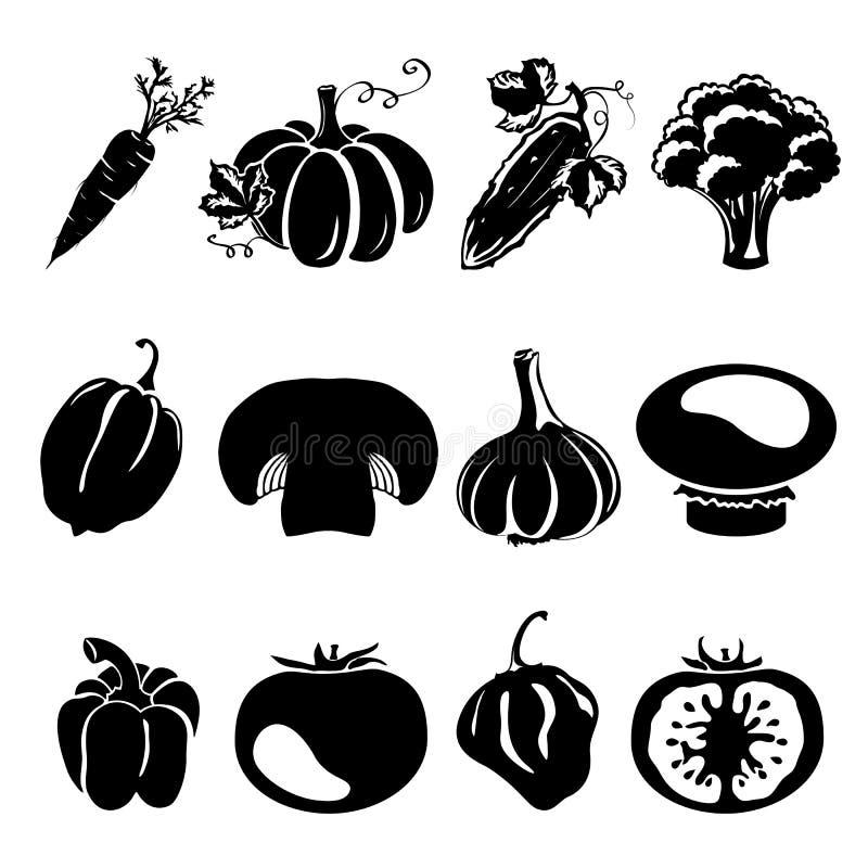 De silhouetten van de schetsstijl vector illustratie