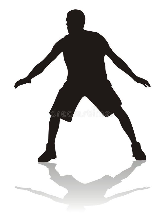 De silhouetten van de sport vector illustratie