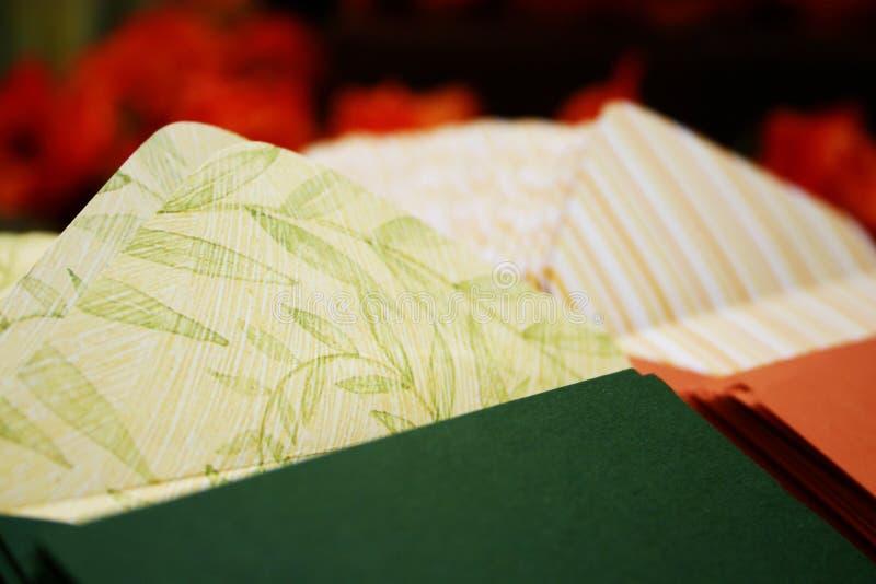 De sinaasappel tgreen wikkelt 040 stock afbeelding