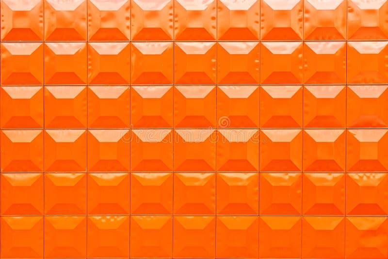 De sinaasappel van de blokpartij stock afbeelding