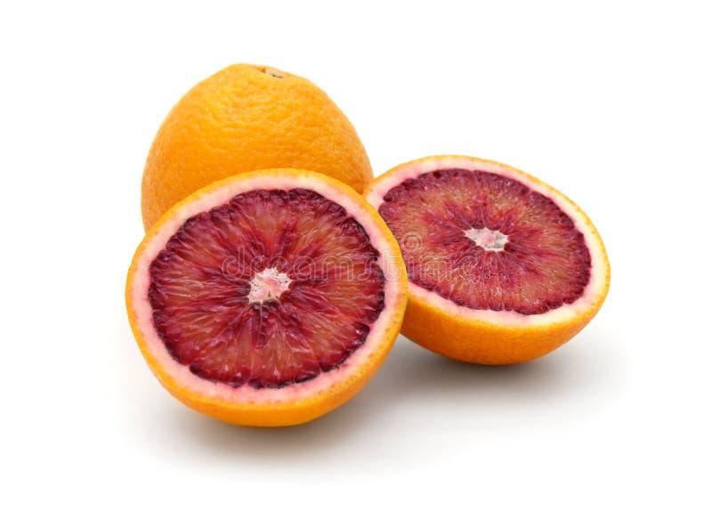 De sinaasappel van het bloed stock foto