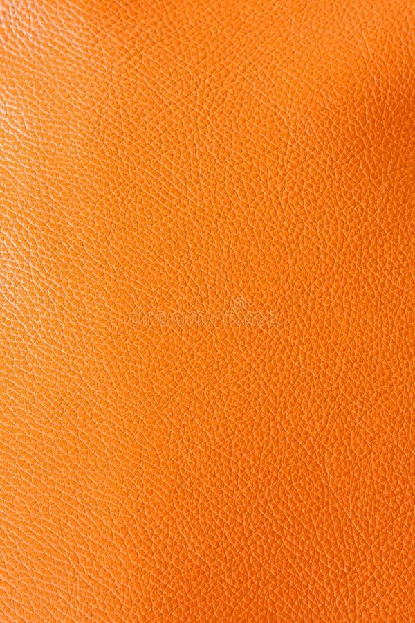De sinaasappel van het leer royalty-vrije stock foto's